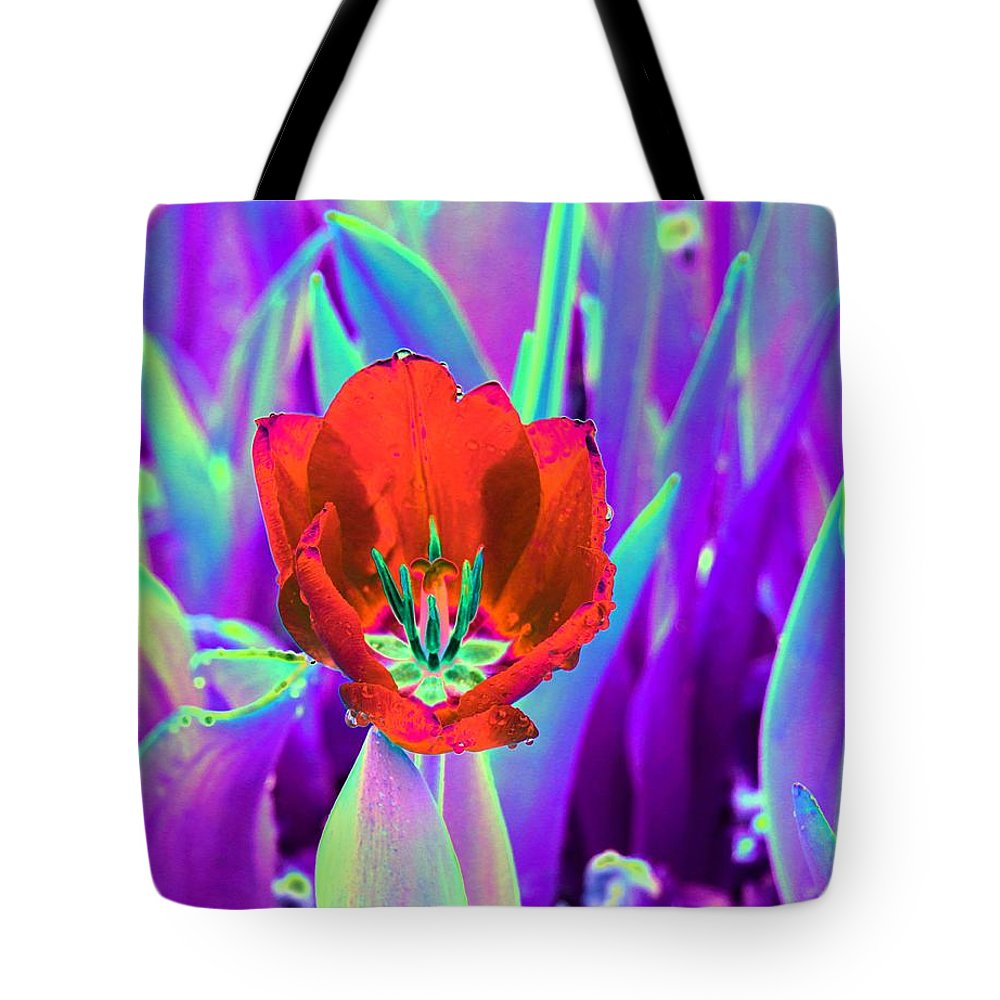 Tulip Tote Bag featuring the photograph Spring Tulips - Photopower 3146 by Pamela Critchlow