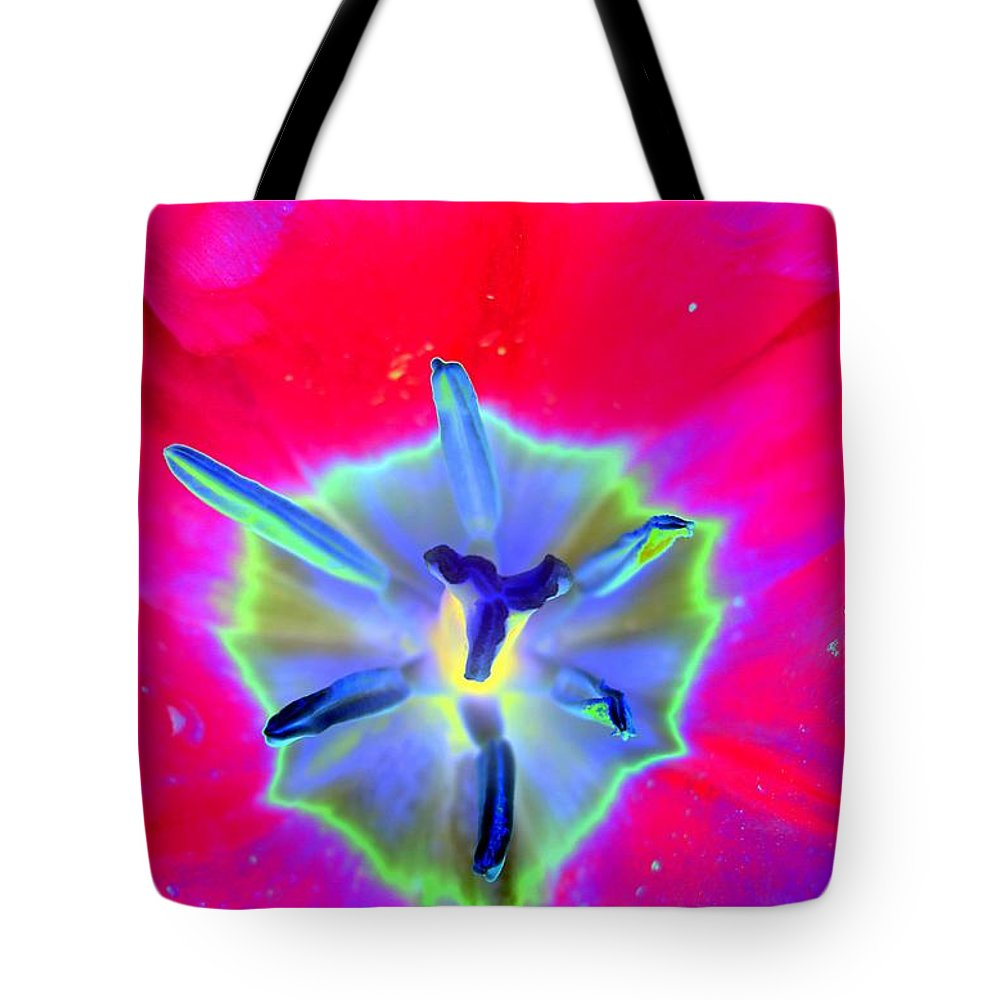 Tulip Tote Bag featuring the photograph Spring Tulips - Photopower 3167 by Pamela Critchlow