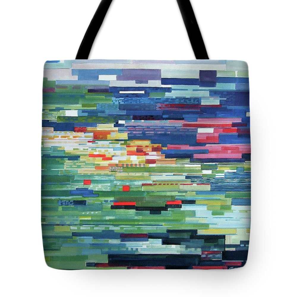 Spring Tote Bag featuring the painting Spring by Volodymyr Slepchenko