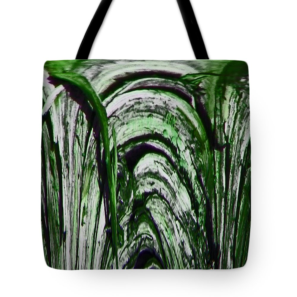 Abstract Tote Bag featuring the digital art Sprinklers by Lenore Senior