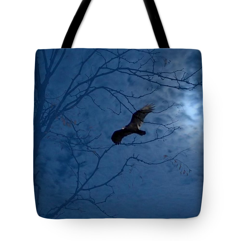 Tote Bag featuring the photograph Sprit In The Sky by Luciana Seymour