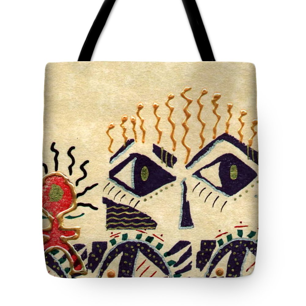 Tote Bag featuring the mixed media Spy Kids 2 by Angela L Walker