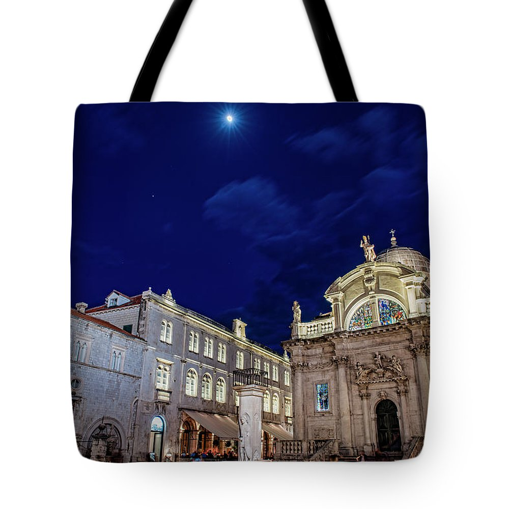 Tote Bag featuring the photograph Square Of The Loggia by Brent Kaire