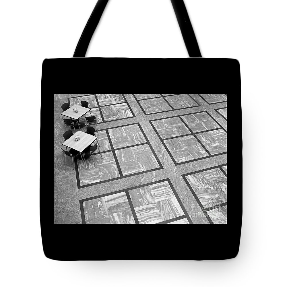 Squares Tote Bag featuring the photograph Squared by Ann Horn