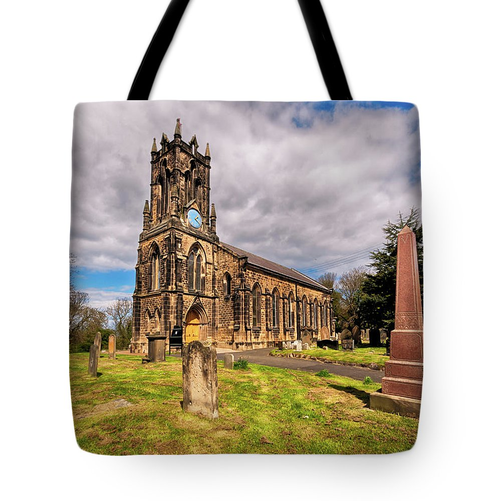 St. Albans Church Tote Bag featuring the photograph St. Albans Church by Naylors Photography