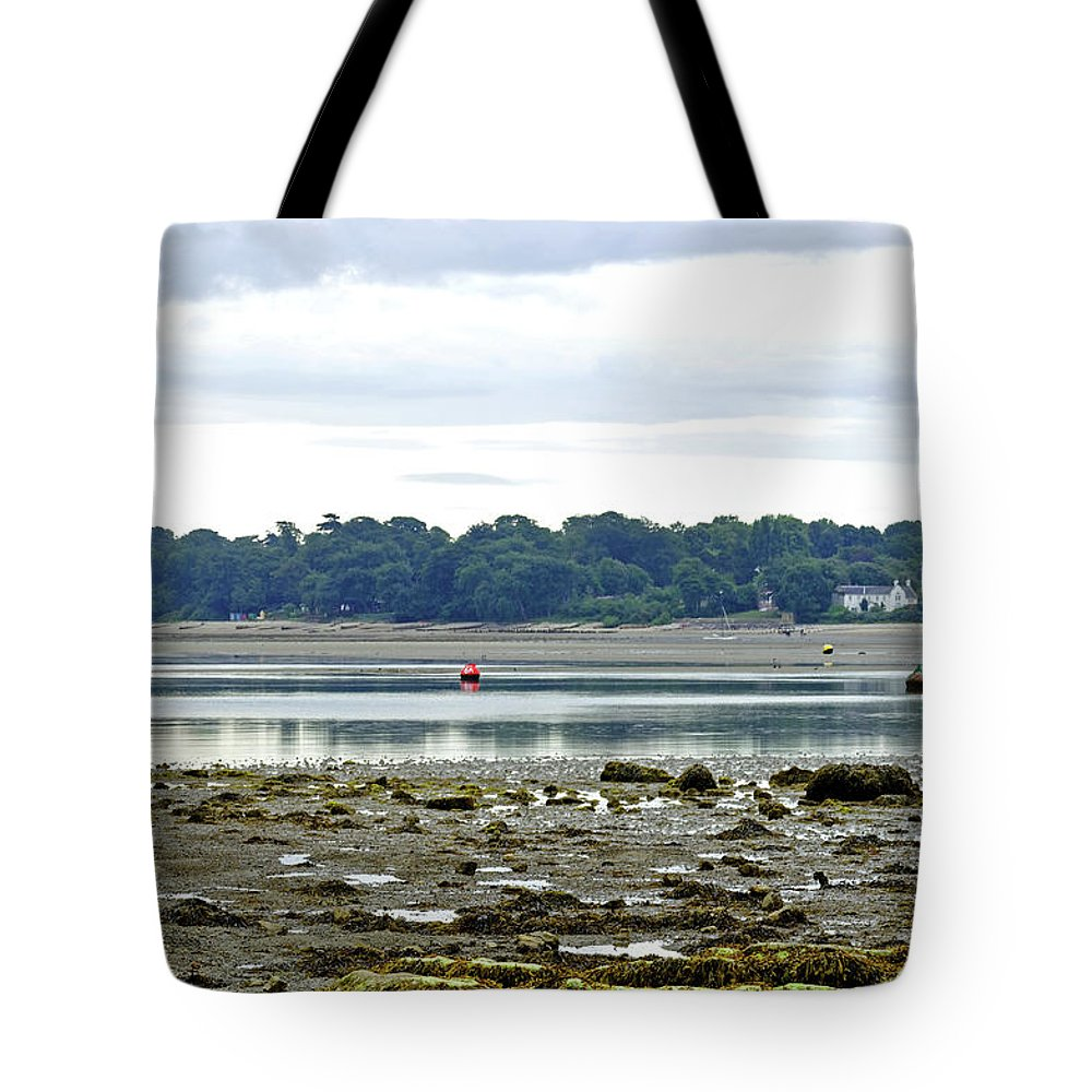 Europe Tote Bag featuring the photograph St Helens Beach To Bembridge Point by Rod Johnson