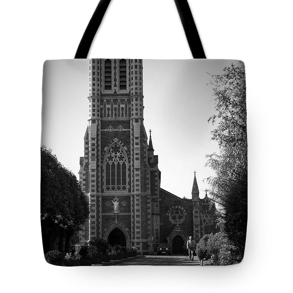 Irish Tote Bag featuring the photograph St. John's Church Tralee Ireland by Teresa Mucha
