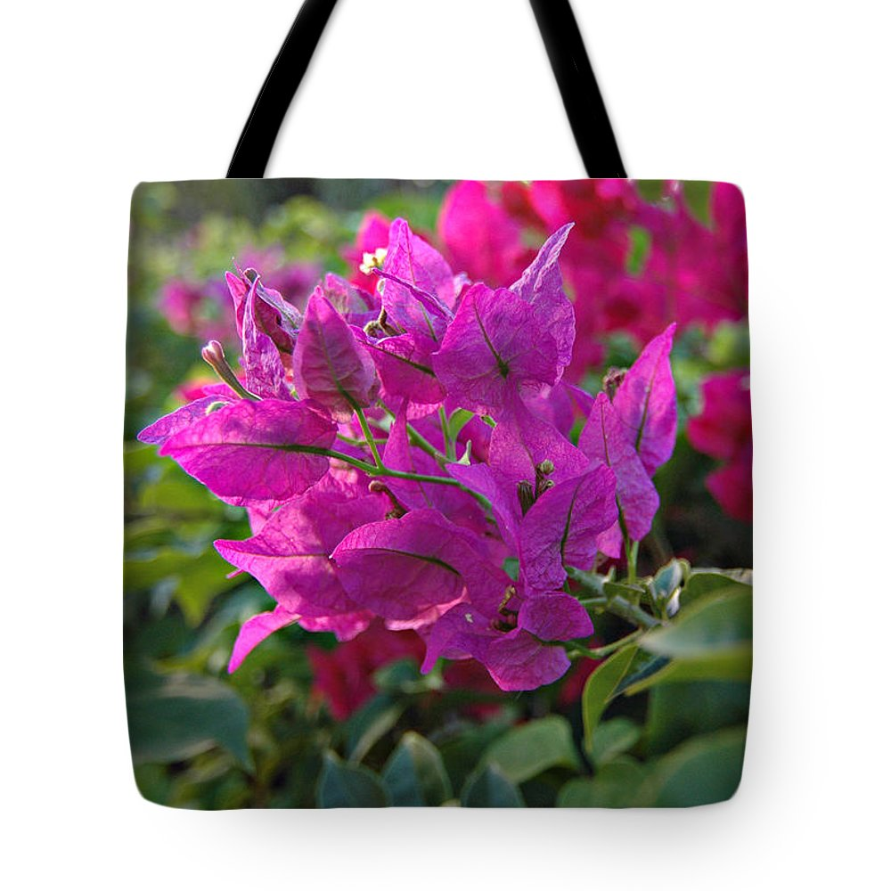 St Lucia Floral Tote Bag featuring the photograph St Lucia Floral by J R Baldini