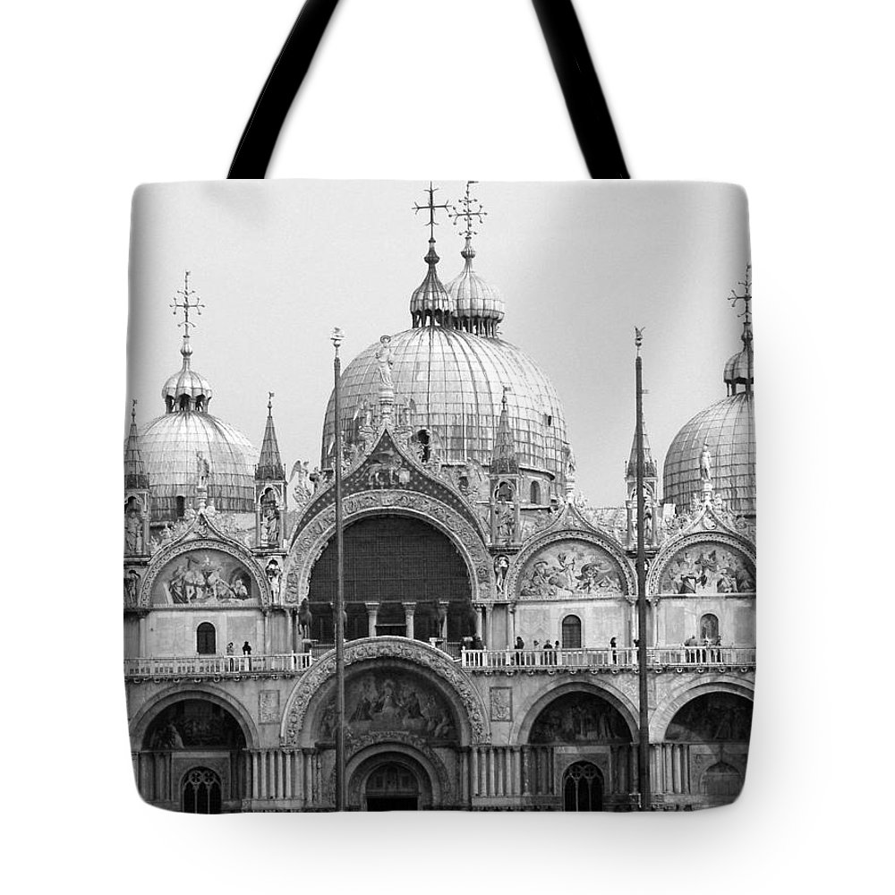 St. Marks Tote Bag featuring the photograph St. Marks by Donna Corless