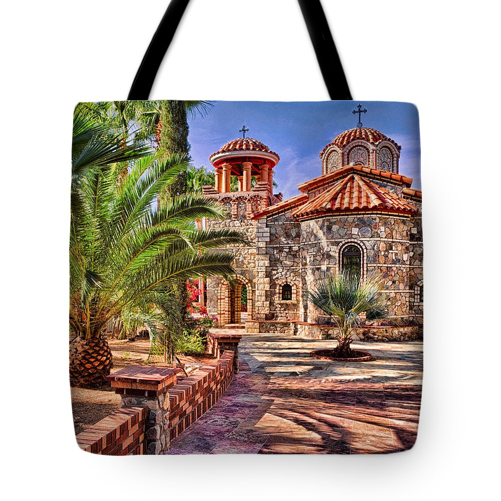 Florence Tote Bag featuring the photograph St. Nicholas Chapel by Matt Suess