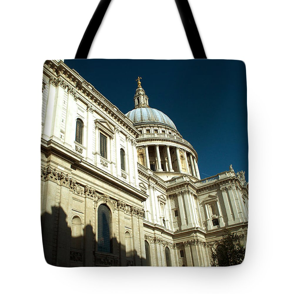 St Pauls Tote Bag featuring the photograph St Pauls Cathedral London 2 by Chris Day
