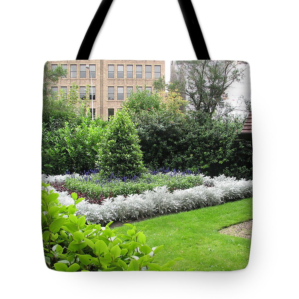 Ireland Tote Bag featuring the photograph St. Stephen's Garden by Kelly Mezzapelle