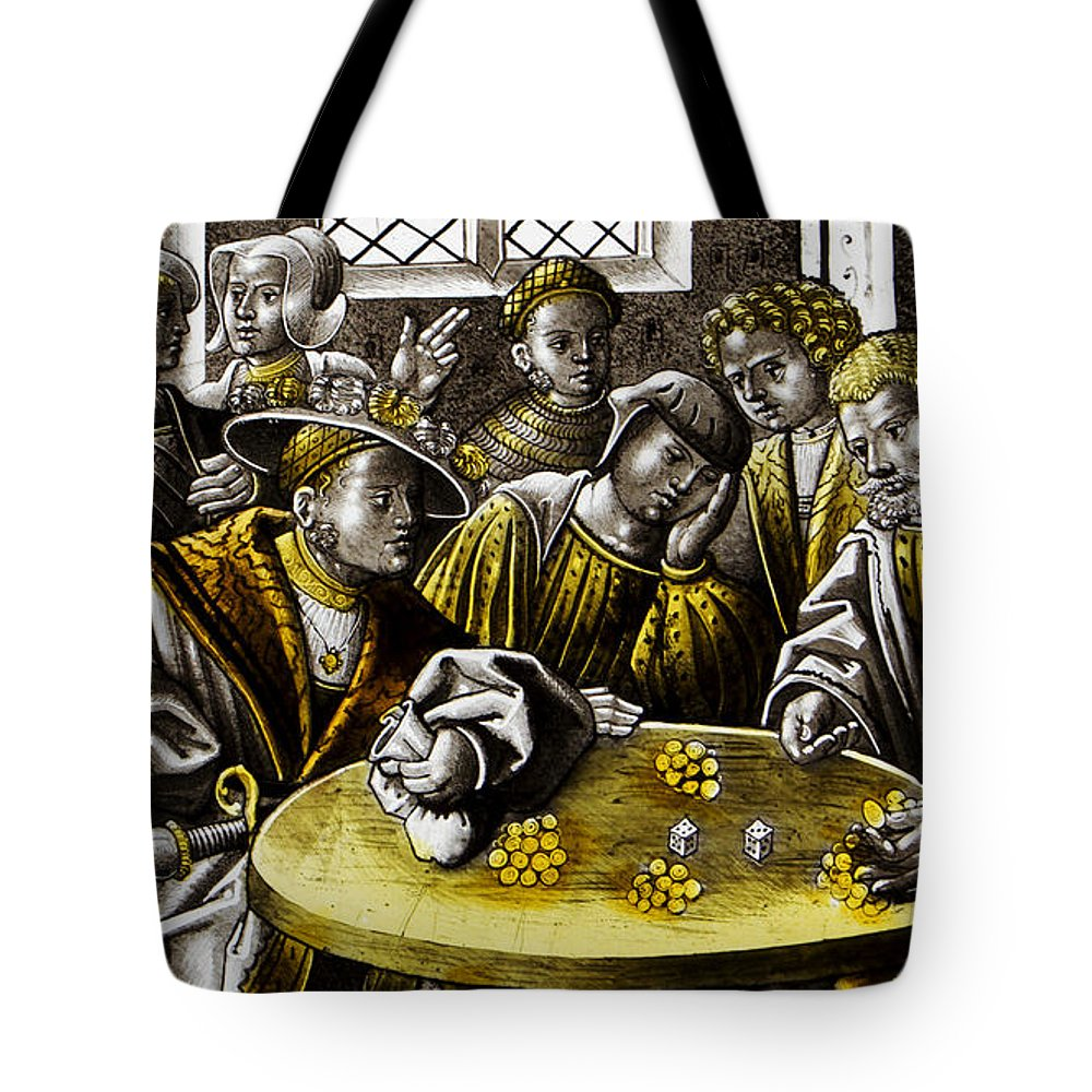 Stained Glass Tote Bag featuring the photograph Stained Glass by Heniek