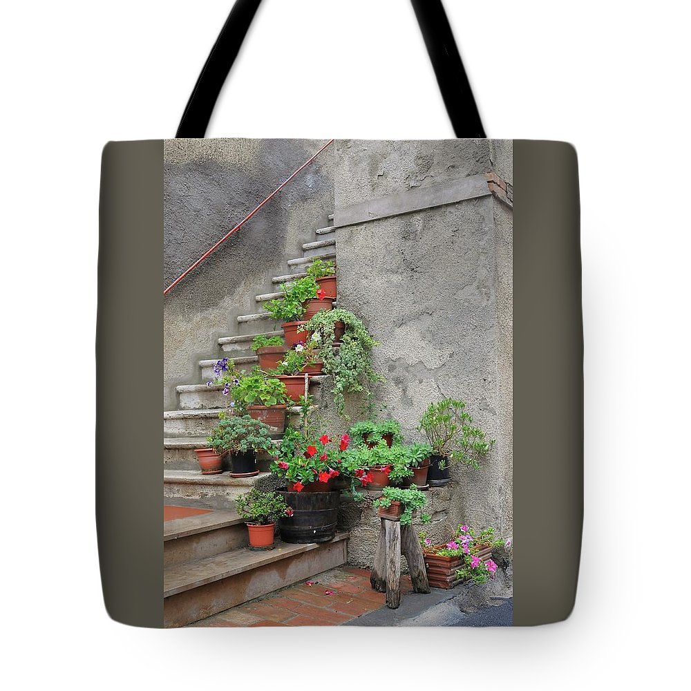 Europe Tote Bag featuring the photograph Stairway To Heaven by Jim Benest