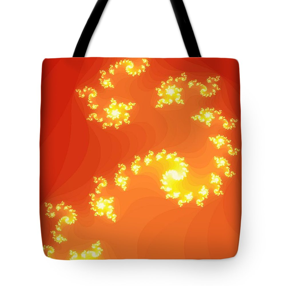 Stars Tote Bag featuring the digital art Stairway To Heaven by Joanna Aud