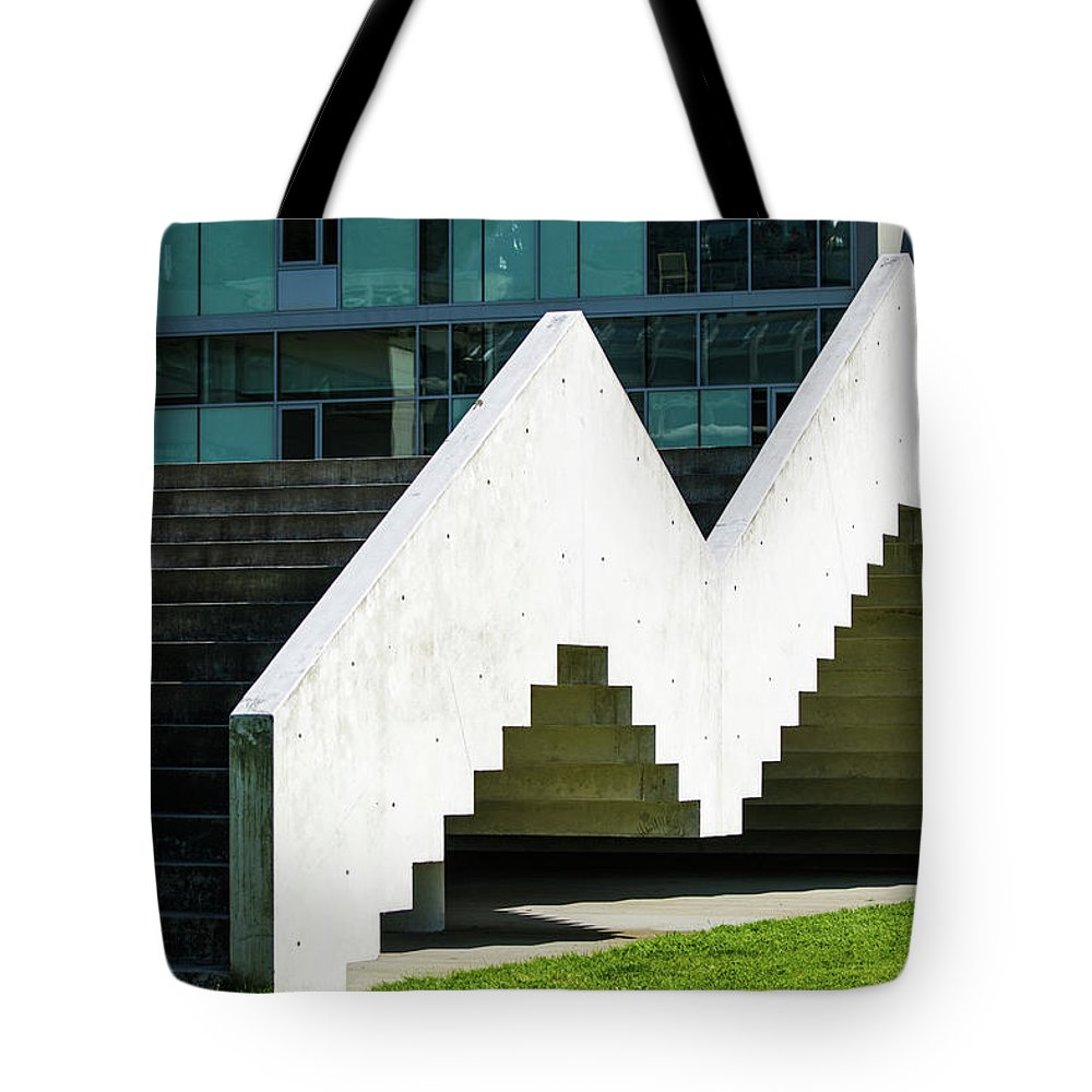 Tote Bag featuring the photograph Stairway To Higher Learning by Tom Cochran