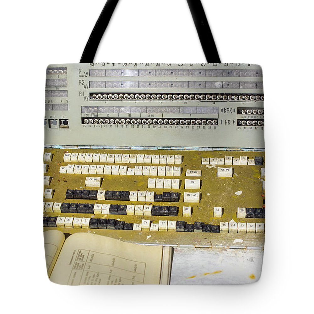 Abandoned Tote Bag featuring the photograph Stalker by Juli Scalzi