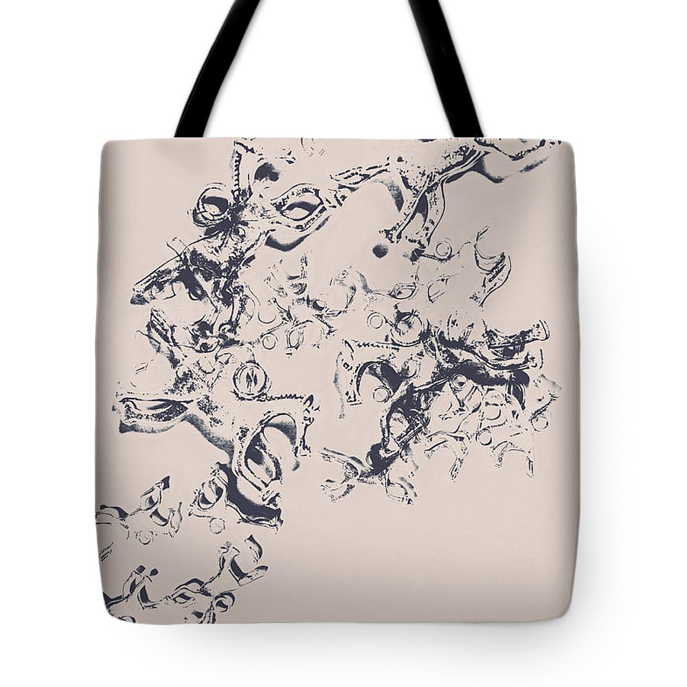 Art Tote Bag featuring the photograph Stallions Inc. by Jorgo Photography - Wall Art Gallery