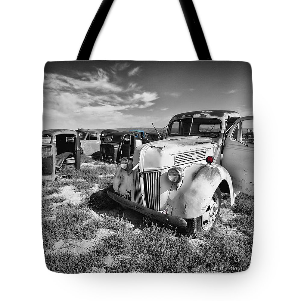 Colorado Tote Bag featuring the photograph Standing Against Time by Emile Ibrahim