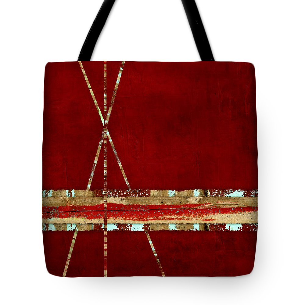 Standing Ground Tote Bag featuring the photograph Standing Ground by Carol Leigh