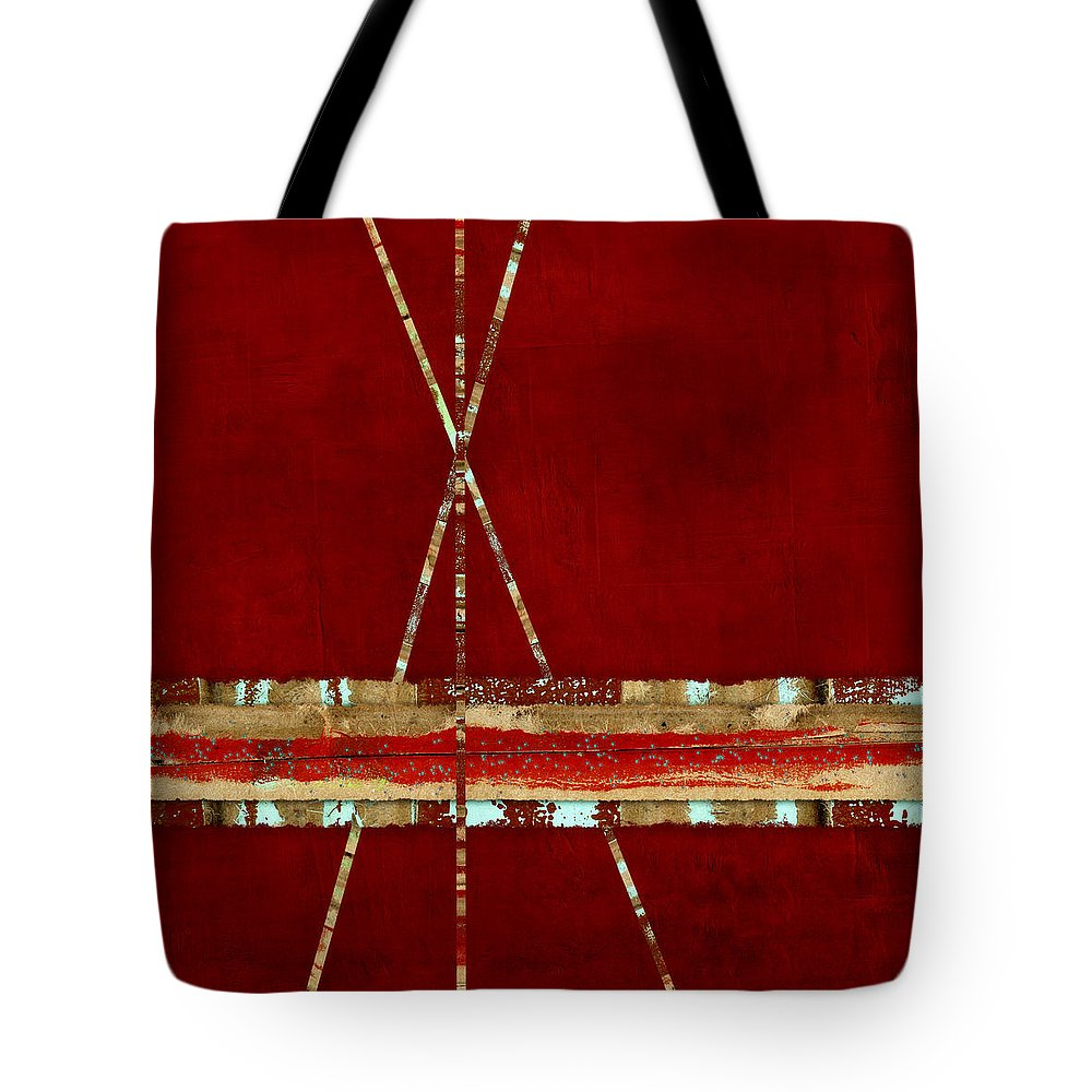Standing Ground Tote Bag featuring the photograph Standing Ground Square Format by Carol Leigh