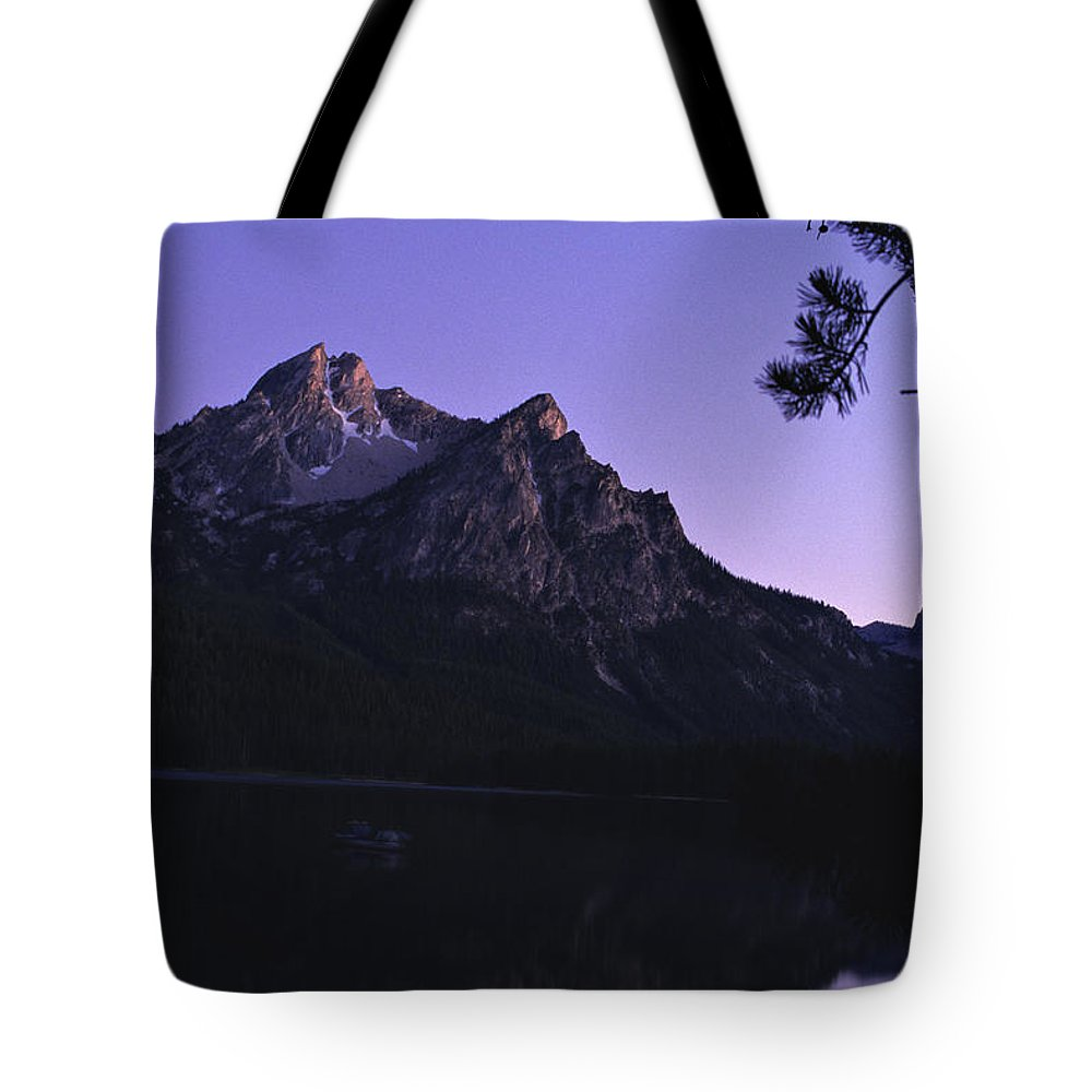 Stanley Lake Tote Bag featuring the photograph Stanley Lake, Id by Dawn Kish