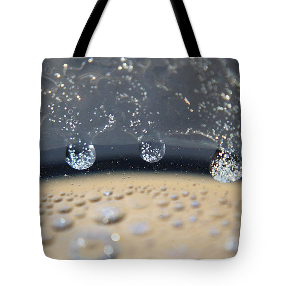 Silver Tote Bag featuring the photograph Star Field by Mandy Shupp