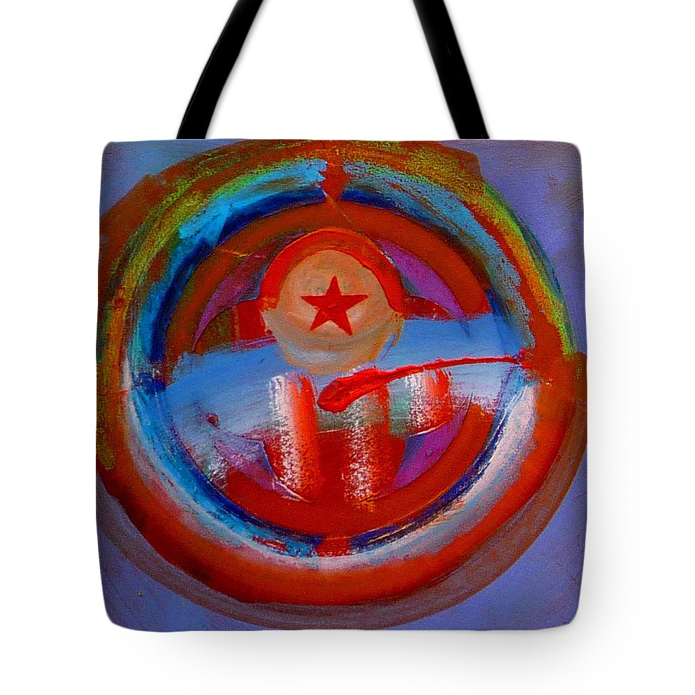 Love Tote Bag featuring the painting Star Of The Sea by Charles Stuart