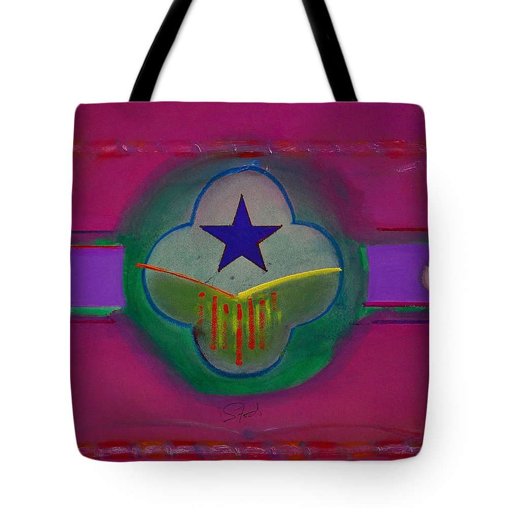 Star Tote Bag featuring the painting Star Of Venice by Charles Stuart