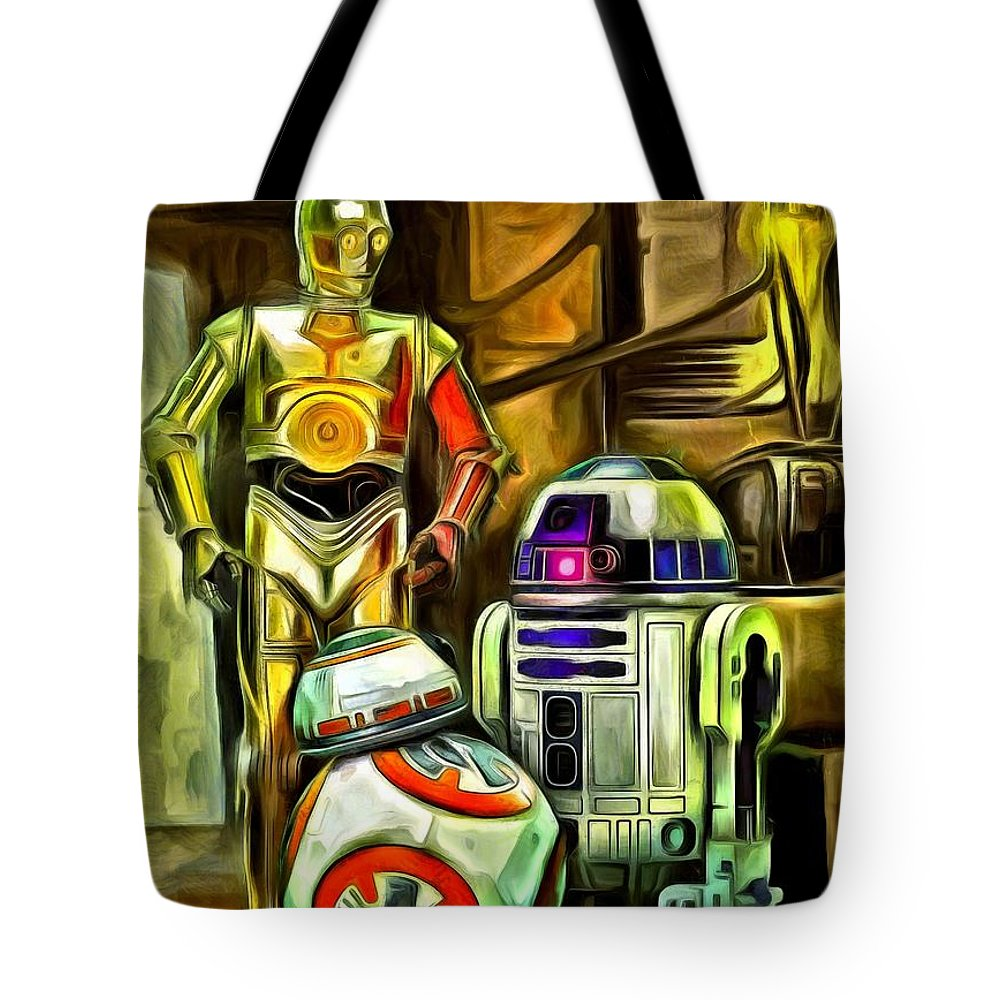 Star Wars Droid Family Tote Bag