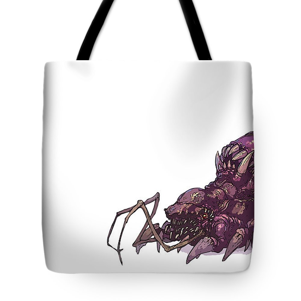 Starcraft Tote Bag featuring the digital art Starcraft by Lora Battle
