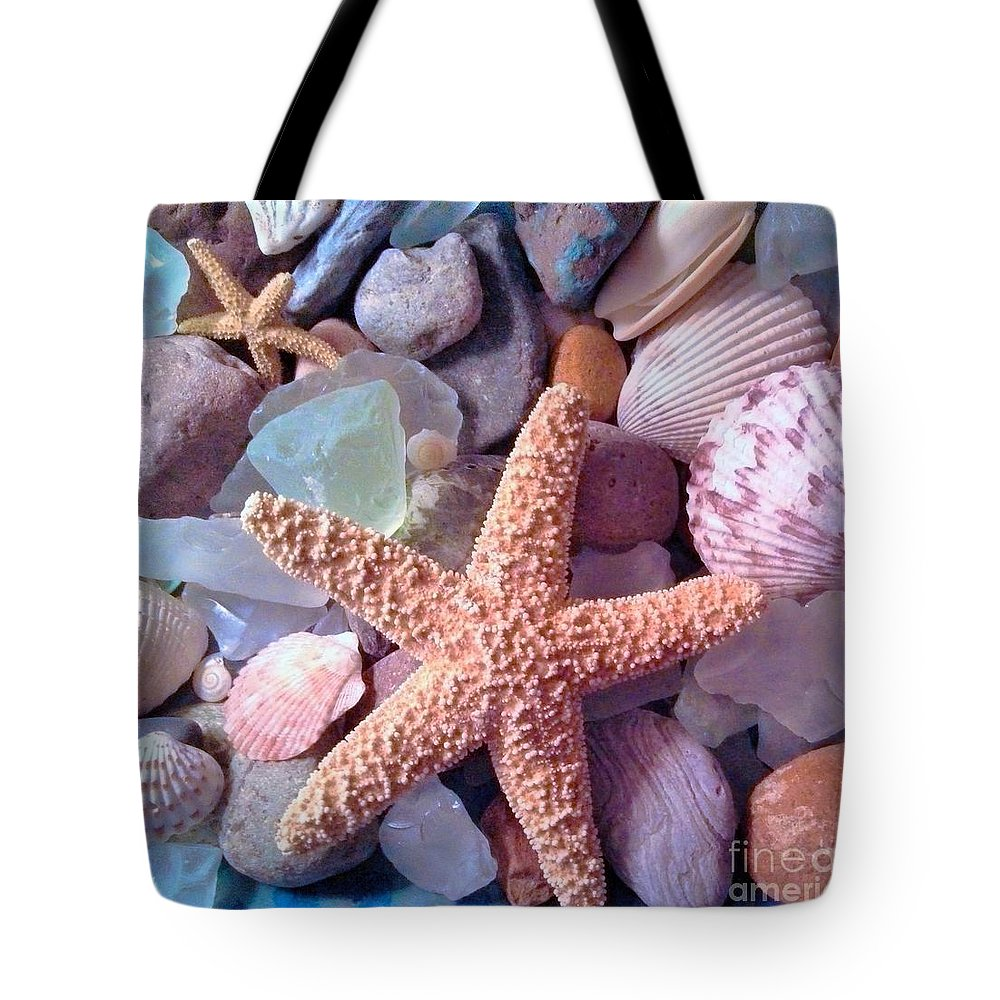 Starfish Tote Bag featuring the photograph Starfish by Rosemary Meier
