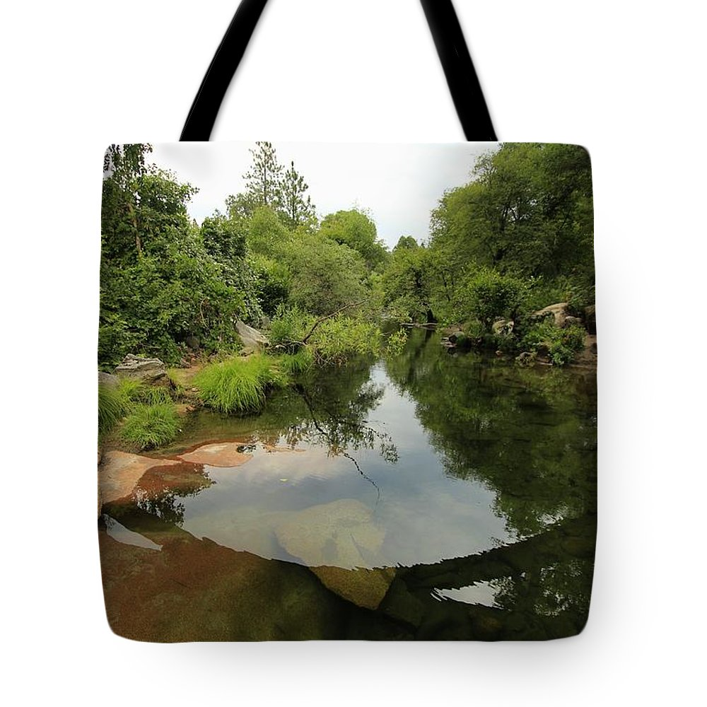 River Tote Bag featuring the photograph Stargate Depths by Sean Sarsfield
