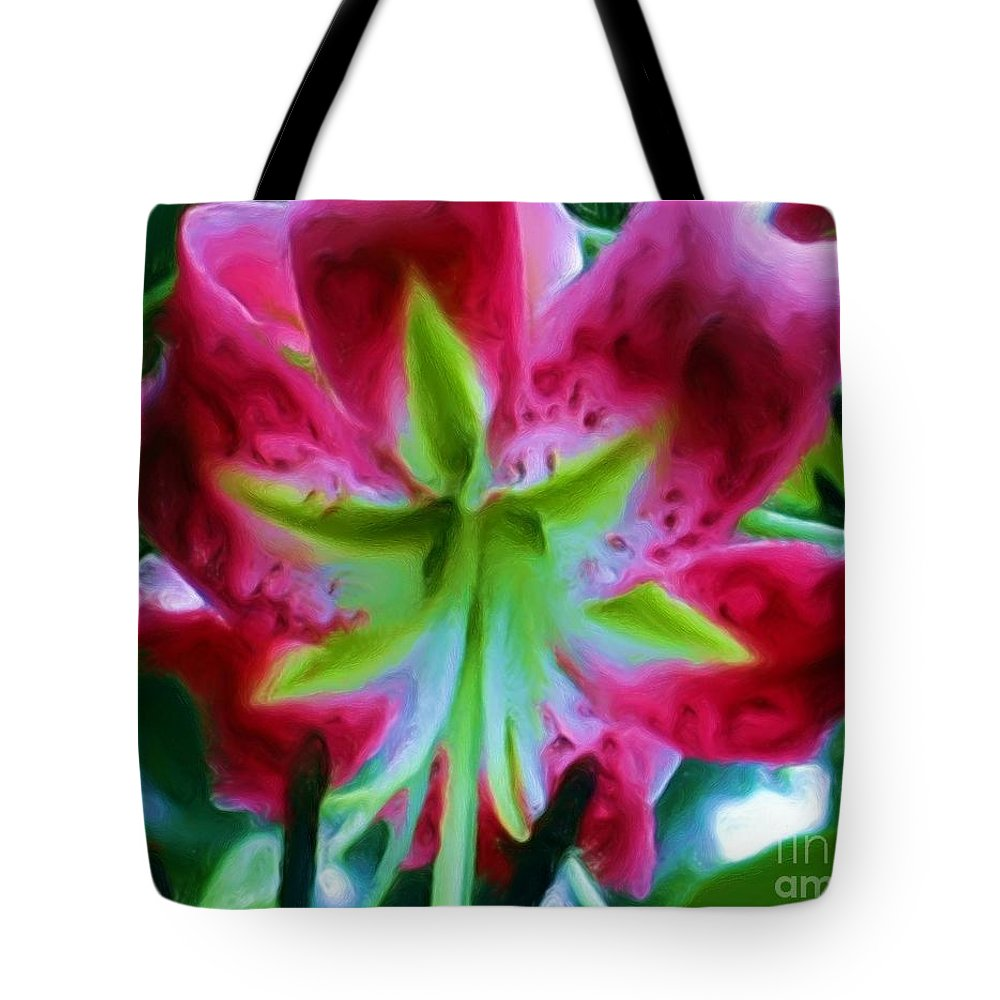 Fine Art Photography Tote Bag featuring the photograph Stargazer by Patricia Griffin Brett