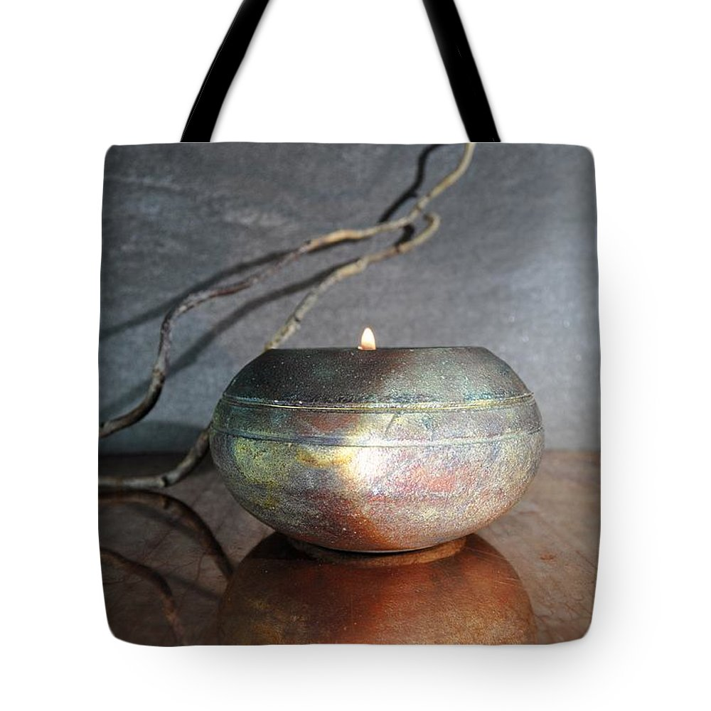 Meditative Tote Bag featuring the photograph Starlight 2 by Helen Wade