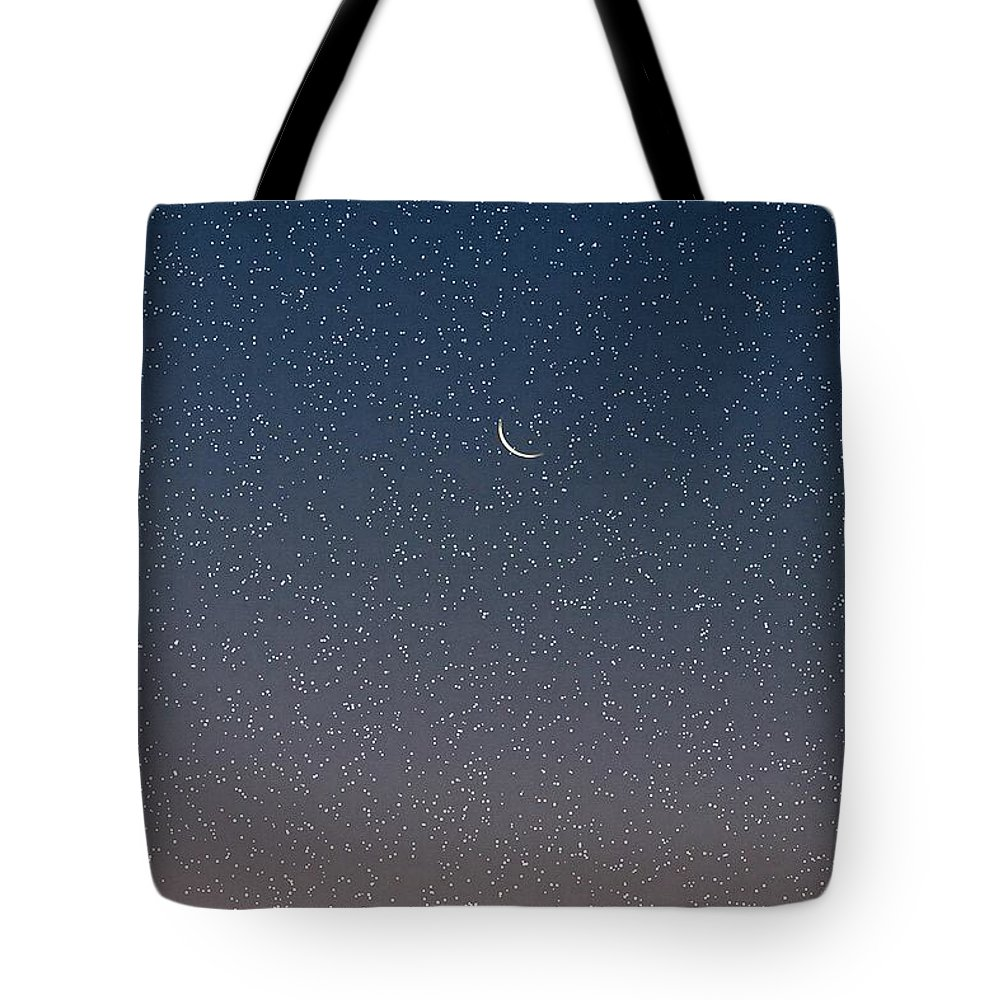 Tote Bag featuring the photograph Starry Morning Sky by Luciana Seymour