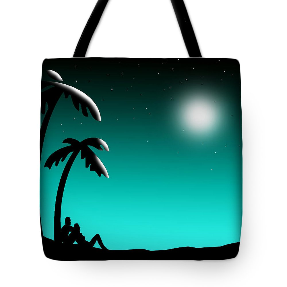 Stars Tote Bag featuring the painting Starry Starry Night by Peter Stevenson