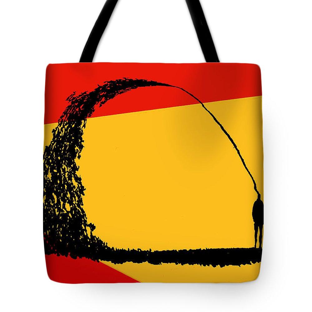 Mind Tote Bag featuring the digital art State Of Mind by Ken Walker