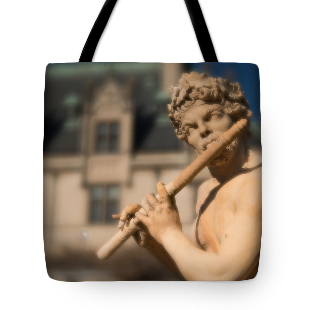 Asheville Tote Bag featuring the photograph Statue 9 by Joye Ardyn Durham