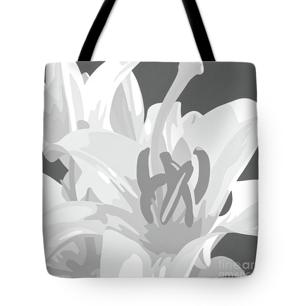 Acrylic Tote Bag featuring the painting Stay Men by Susan Porter