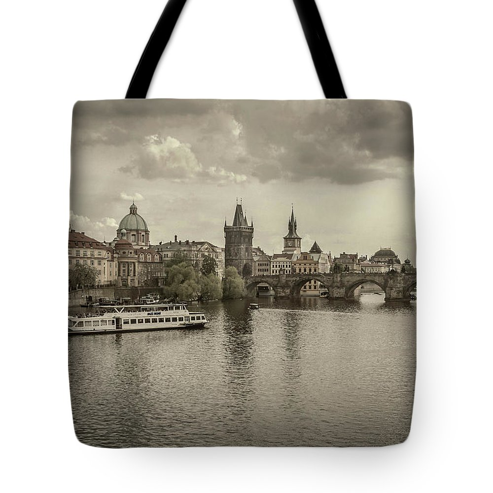 Tote Bag featuring the photograph St.charles by Brent Kaire
