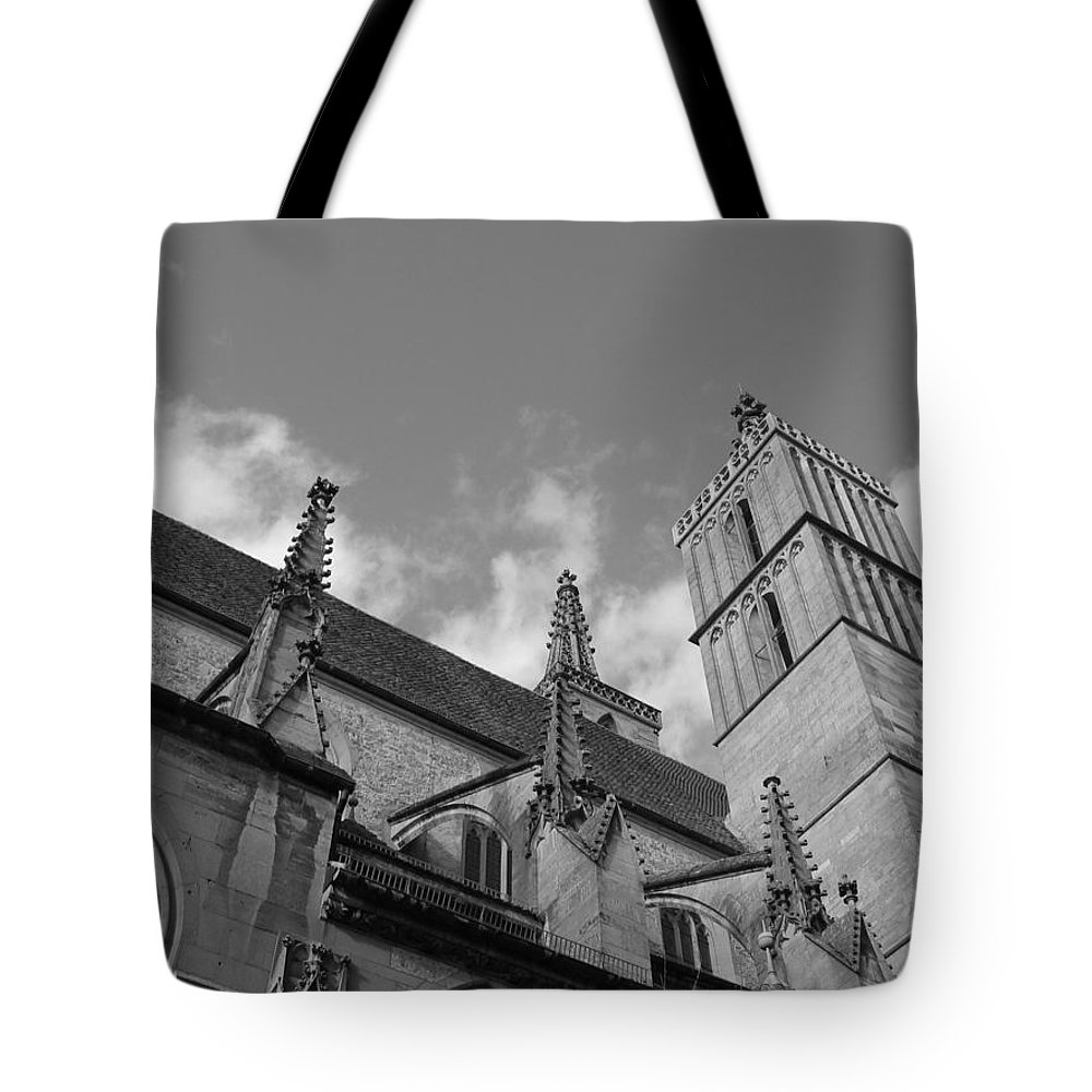 Cathedral Tote Bag featuring the photograph Steadfast by Dylan Punke