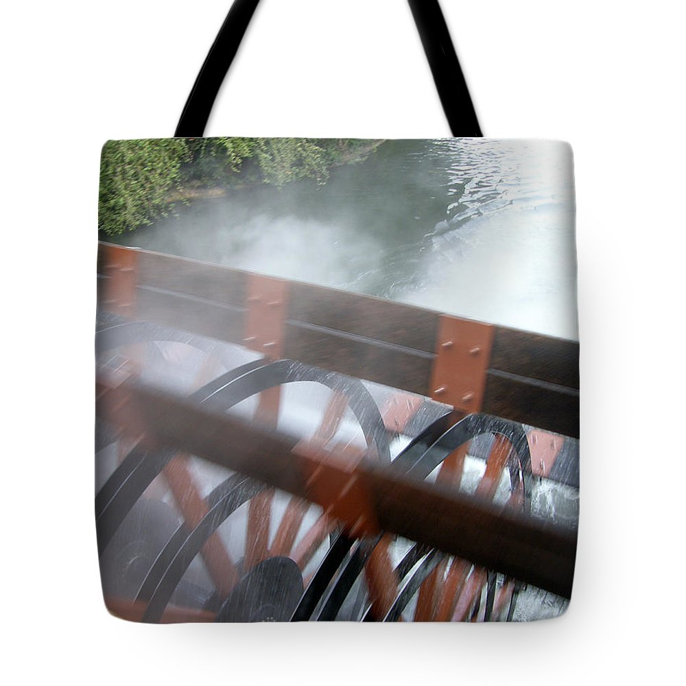 Steamboat Tote Bag featuring the photograph Steamboat by Are Lund