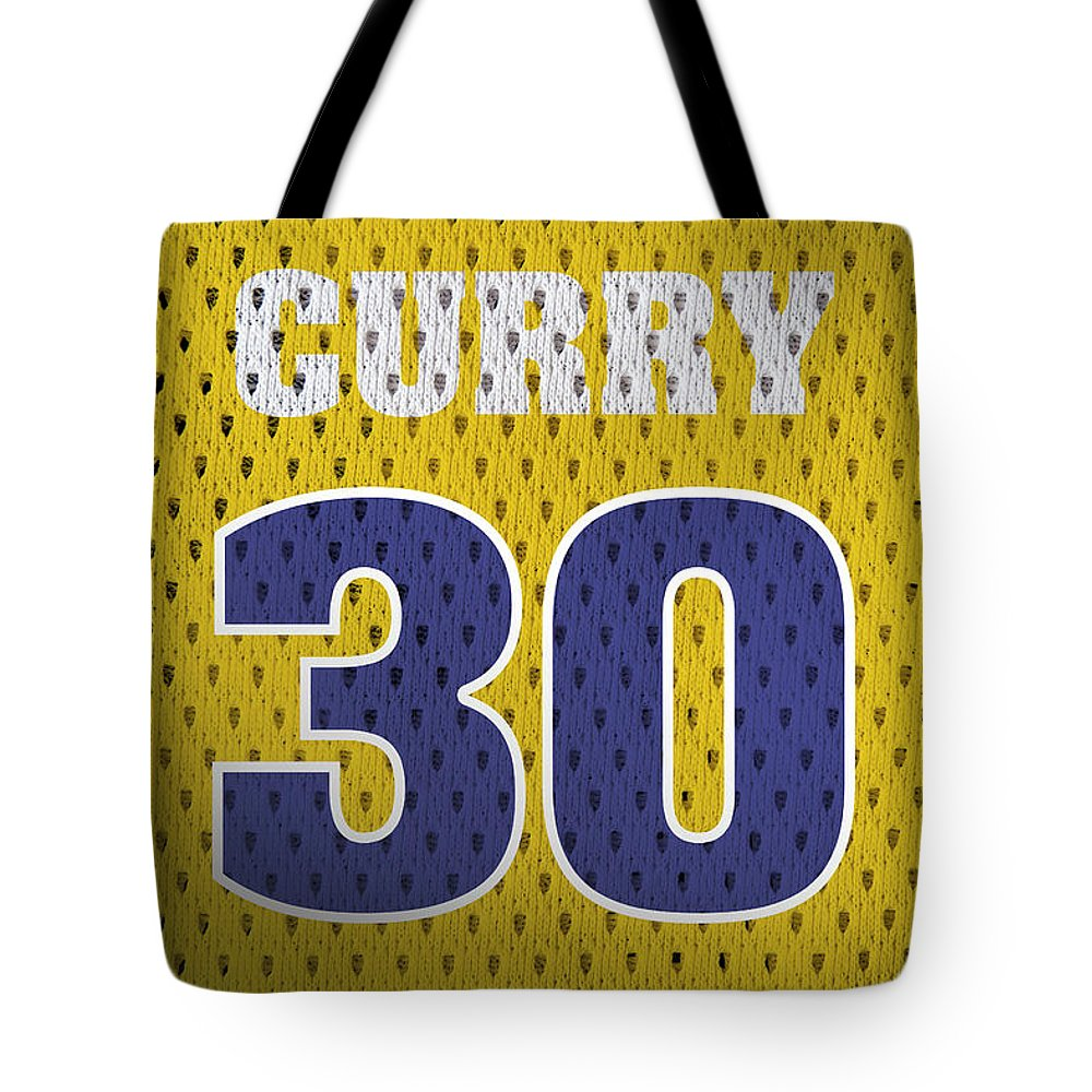 reputable site 9a724 2aedc Stephen Curry Golden State Warriors Retro Vintage Jersey Closeup Graphic  Design Tote Bag