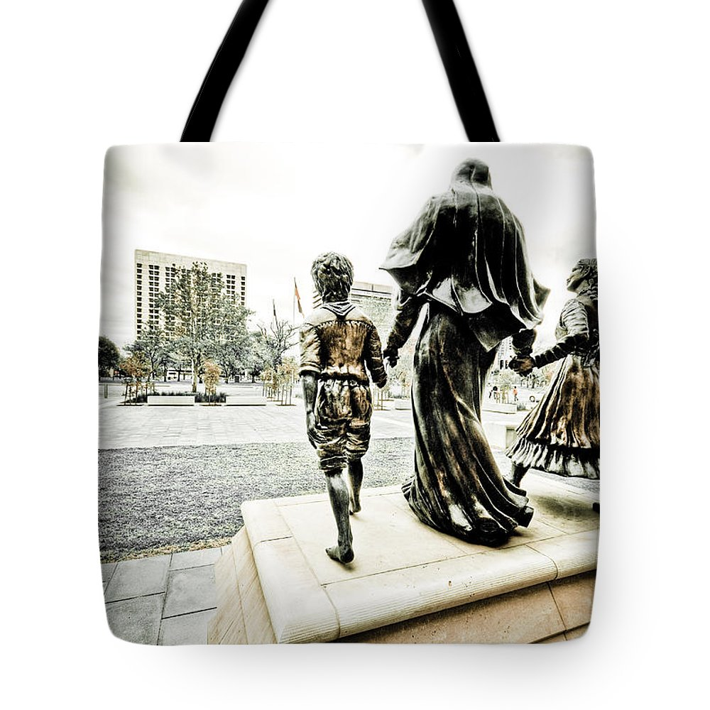 Adelaide Tote Bag featuring the photograph Stepping Out by Wayne Sherriff