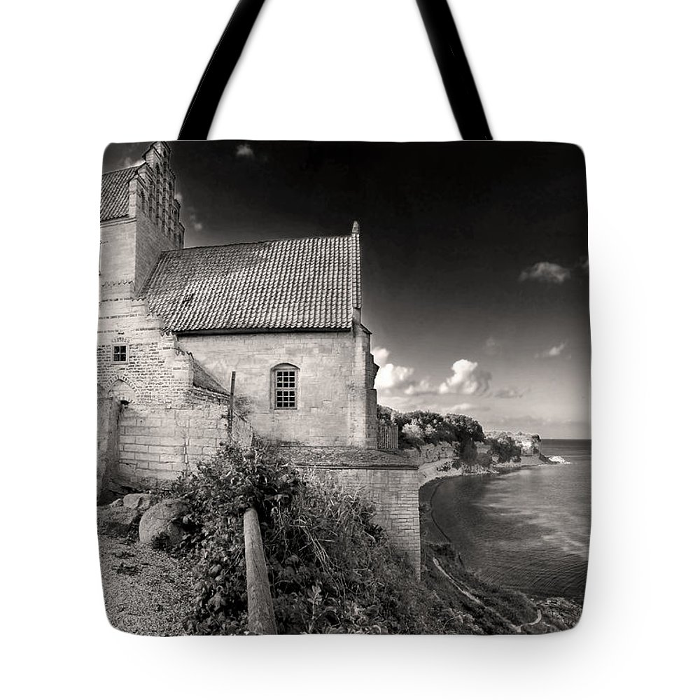 Stevns Klint Tote Bag featuring the photograph Stevns Klint by Robert Lacy