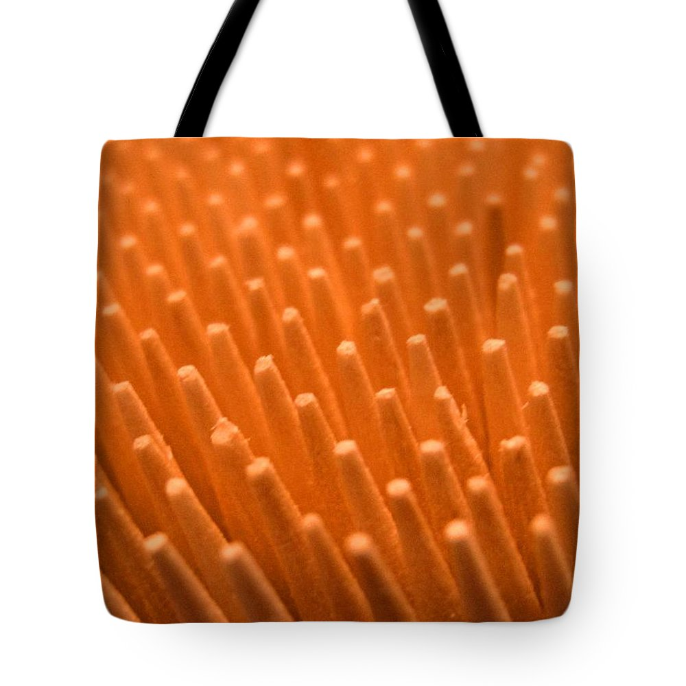 Toothpicks Tote Bag featuring the photograph Sticks by Ian MacDonald