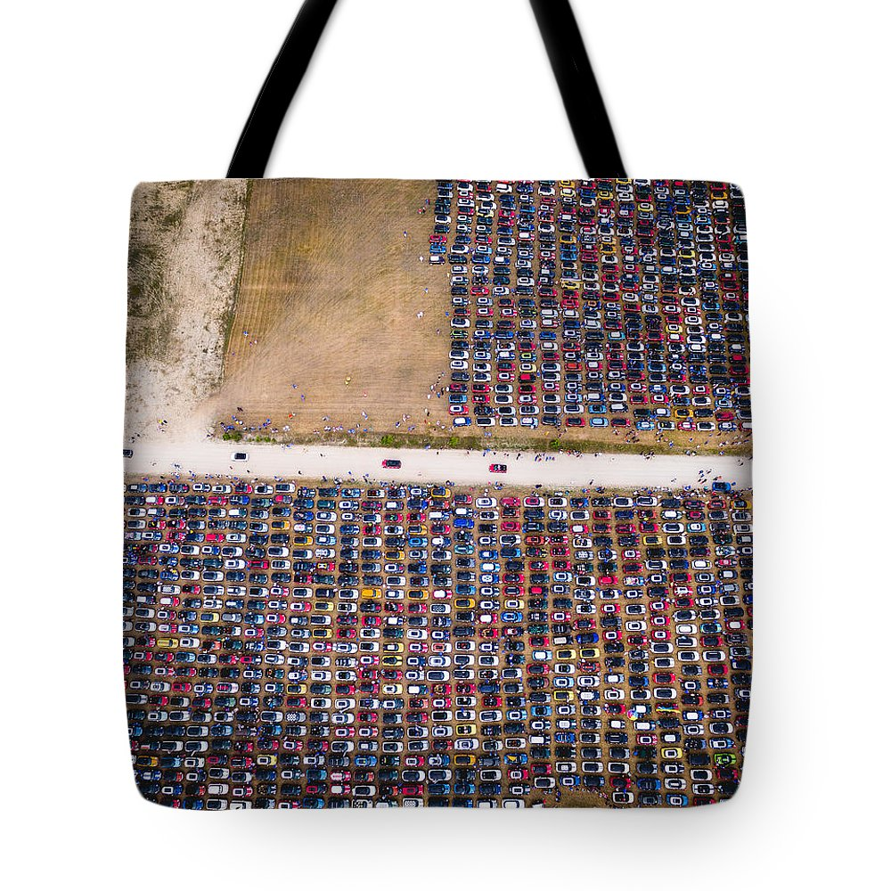 Mini Tote Bag featuring the photograph Still Arriving by Mike Bober - Northshire Photo