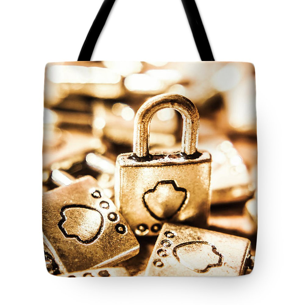 Locks Tote Bag featuring the photograph Still-life At The Safehouse by Jorgo Photography - Wall Art Gallery