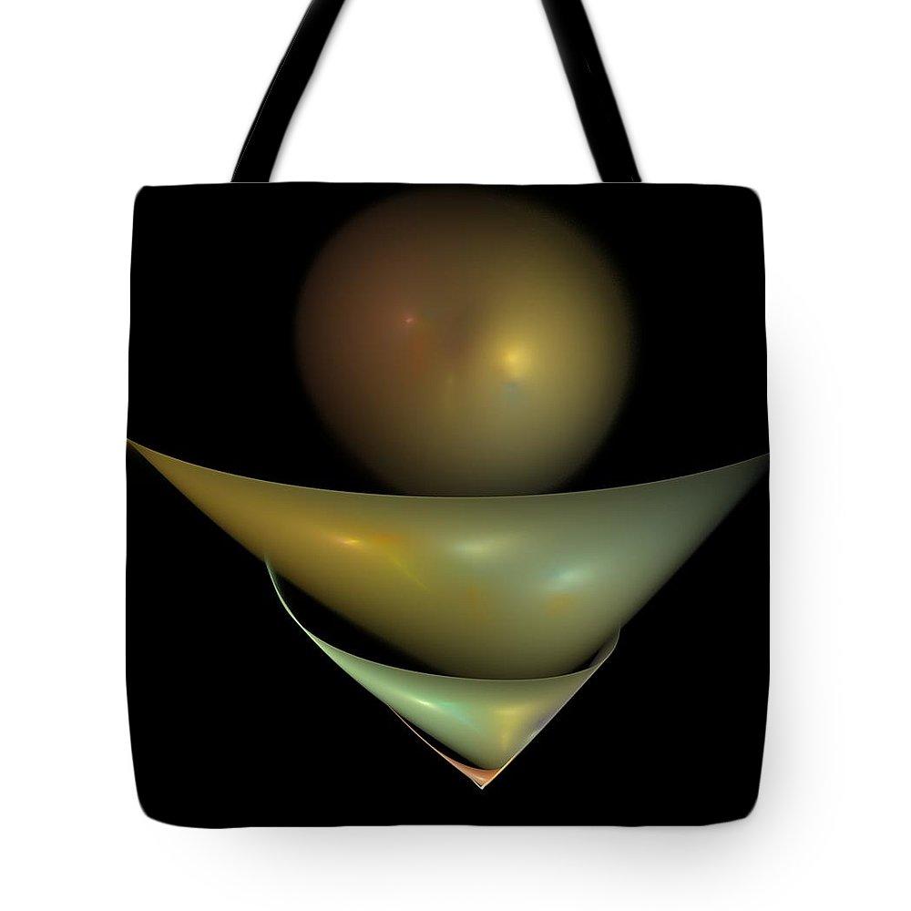 Fantasy Tote Bag featuring the digital art Still Life by David Lane